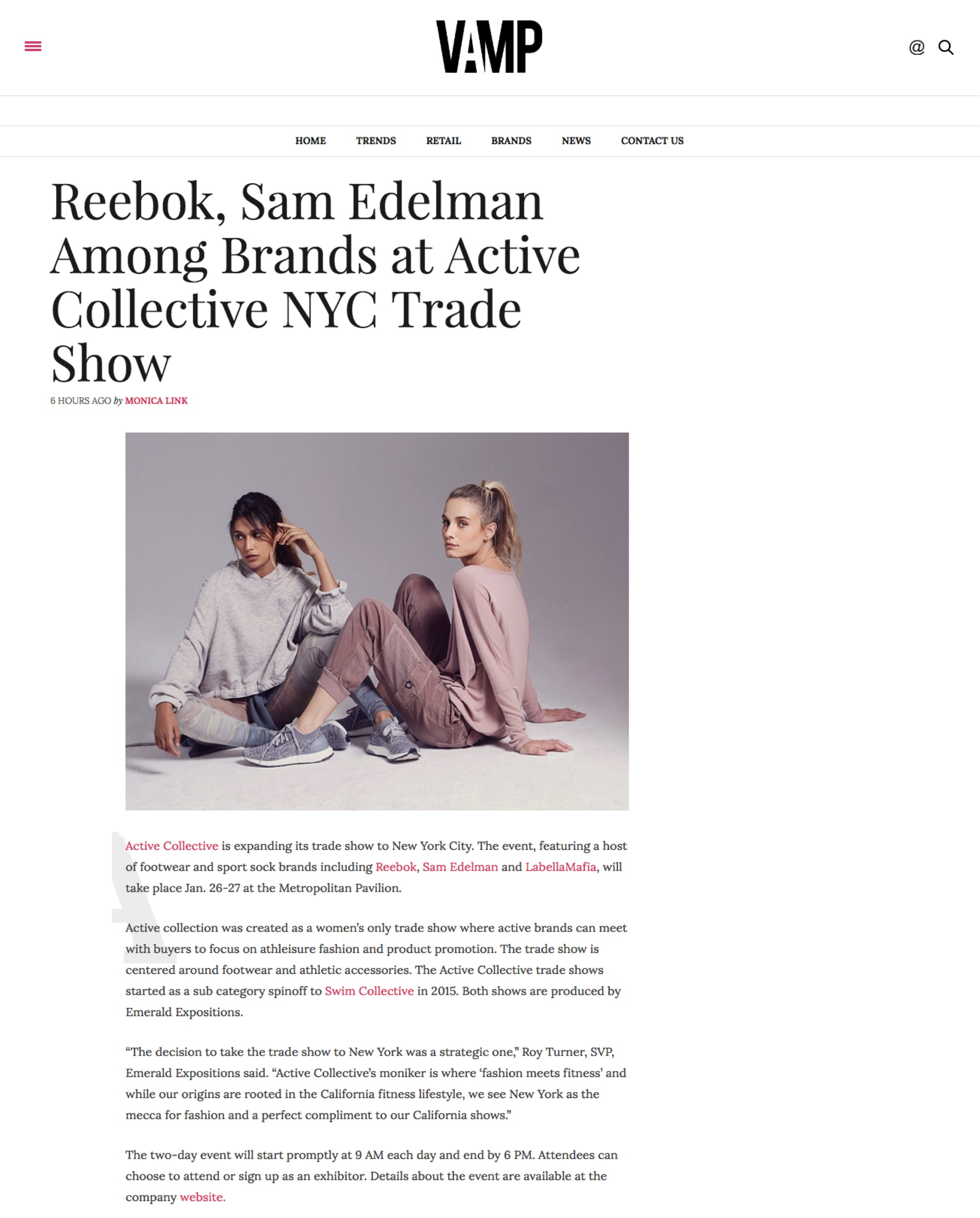 Press Coverage | Active Collective